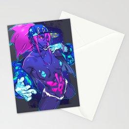 akali kda Stationery Cards