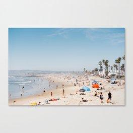 San Diego Beach Canvas Print