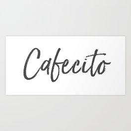 Palabras Cafecito  Art Print