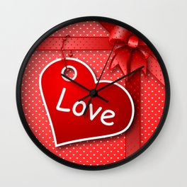 Valentine's  Gift G274 Wall Clock