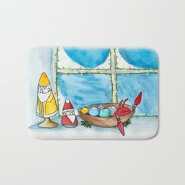 New England Holiday Bath Mat