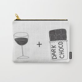 Wine and Chocolate Carry-All Pouch