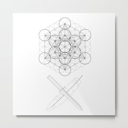 Body, Soul & Intellect Metal Print