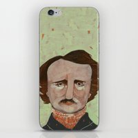 poe iPhone & iPod Skins featuring Poe. by Arrolynn