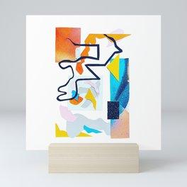 Cool heat wave Mini Art Print