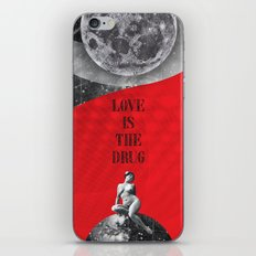 Love is the drug (Rocking Love series) iPhone Skin