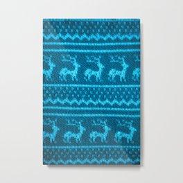 Ugly Christmas Sweater Metal Print