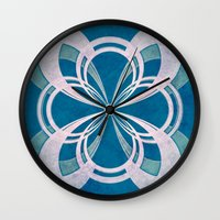 infinity Wall Clocks featuring Infinity by Enrico Guarnieri 'Ico-dY'