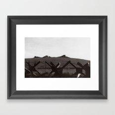 Bunker bells Framed Art Print