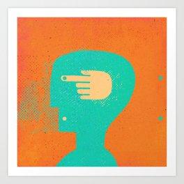 handhead Art Print