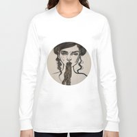 ursula Long Sleeve T-shirts featuring Ursula by Shalehound