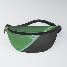 one drop on green Fanny Pack