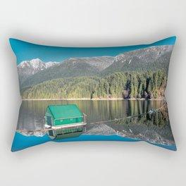 Capilano Lake  - reservoir Rectangular Pillow