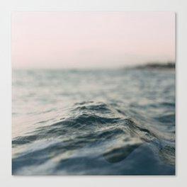 wavey Canvas Print
