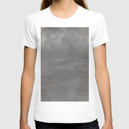 Burst of Color Pantone Pewter Abstract Watercolor Blend T-shirt