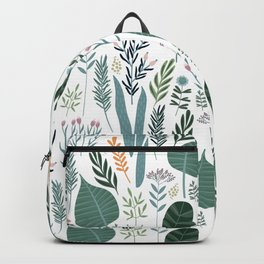 Early Spring Thaw In The Flower Garden Pattern Backpack