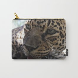 Leopard taking 5 Carry-All Pouch