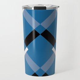 Chevrons Navy Travel Mug