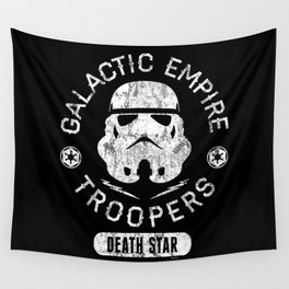 """Galactic Empire Troopers"" by Josh Ln Wall Tapestry"