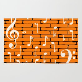 Music Wall Background Rug