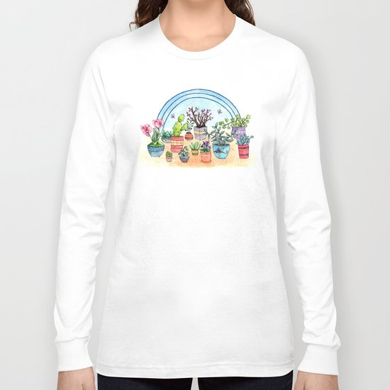 Household Plants Long Sleeve T-shirt