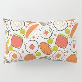 Japanese sushi lovely pattern Pillow Sham