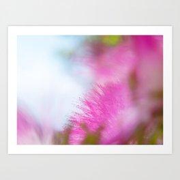 Full pink dream Art Print