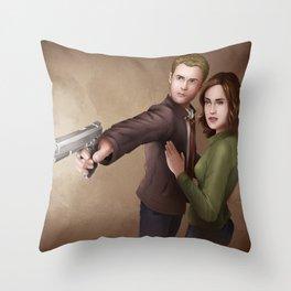 Fitzsimmons - Cornered Throw Pillow