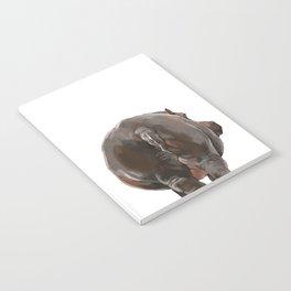 Hippo Butt Notebook