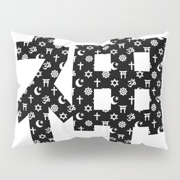 Kami black Japanese Pillow Sham