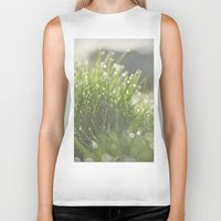 grass Biker Tanks featuring Grass by Pure Nature Photos