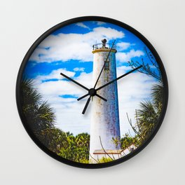 Egmont Key Lighthouse Wall Clock