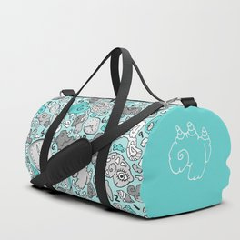 PLAYTIME_BLUE Duffle Bag