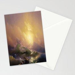 Hovhannes Aivazovsky's The Ninth Wave Stationery Cards
