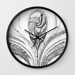 Pineal Gland - Cosmic activation Wall Clock