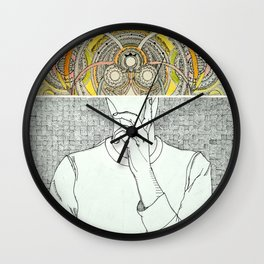 Thought Bubble Wall Clock