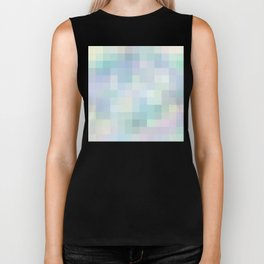 Re-Created Colored Squares No. 22 by Robert S. Lee Biker Tank