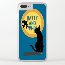 Batty and Whim Clear iPhone Case
