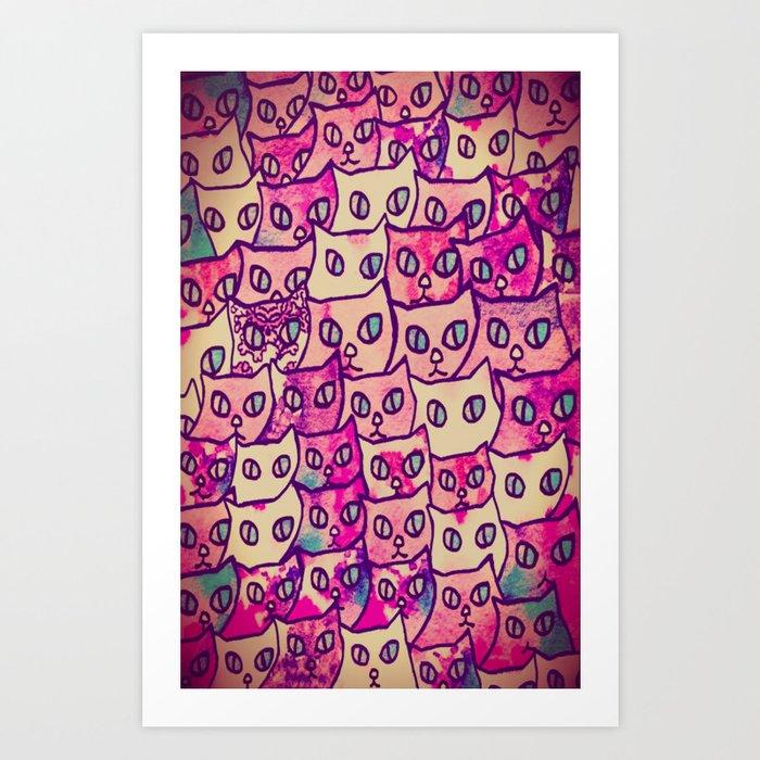 cat-112 Art Print