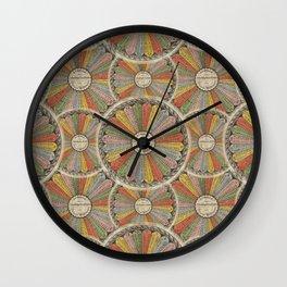 Multiplication Tables Wall Clock