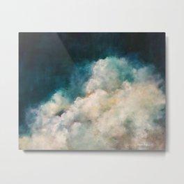 Indigo Cloudscape Metal Print