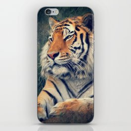 Tiger No 3 iPhone Skin