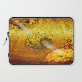 Spying in the Space Laptop Sleeve