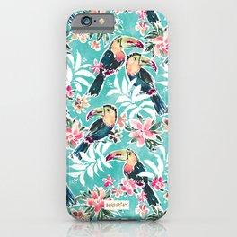 TOUCADISE TOU Tropical Toucans iPhone Case