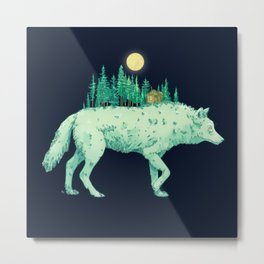 Forest spirit Metal Print