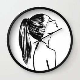 Meaghan Wall Clock