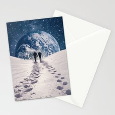 Pale Blue Dot Stationery Cards