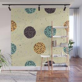 Terracotta Pattern in modern colours Wall Mural