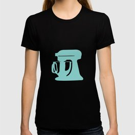 In The Kitchen — Turquoise T-shirt