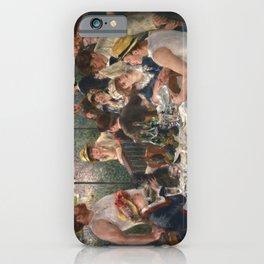 Auguste Renoir - Luncheon of the Boating Party (Le déjeuner des canotiers) iPhone Case